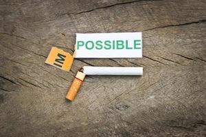 quitting smoking photo