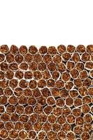 línea de producción de cigarrillos foto