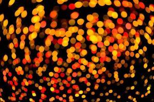 bokeh abstracto luces de navidad