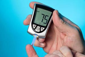 Blutzuckermessgerät, zur Überprüfung des Blutzuckerspiegels