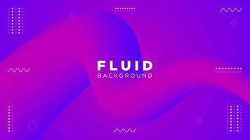Creative Fluid Purple and Pink Design vector