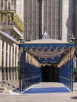 Royal passageway for Dutch King's inauguration