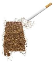 Cigarette and tobacco shaped as Alabama (series)