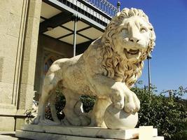 Escultura del león medici, palacio vorontsov