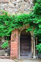 puerta medieval foto