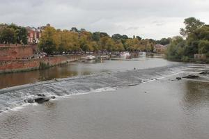 Chester City and River Dee