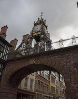 reloj chester - norte de inglaterra foto