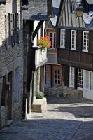 Half-timbered building in the Rue de Jerzual, Dinan photo