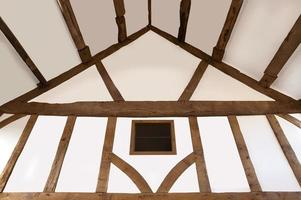 Oak beamed ceiling