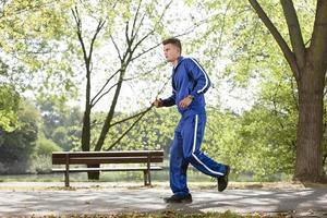 Outdoor fitness photo