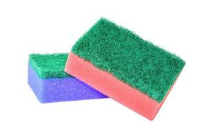 Pair of washing sponge photo
