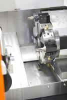 high precision CNC lathe turning automotive part photo