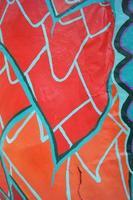 Colorful paper mache design photo