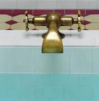 Jugendstil bath tap