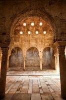 El Banuelo, arabic public baths in Granada, Spain photo
