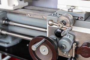 Part of a lathe machine