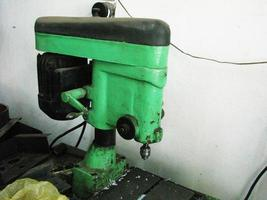 Old small drilling lathe photo