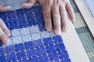 fabricação de mosaicos