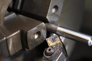 Lathe drilling photo