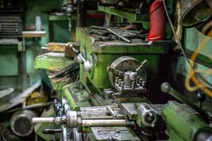 CNC Lathe old photo