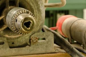 Lathe detail photo