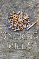 fumar mata foto
