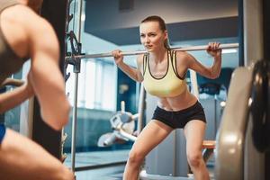 Pretty weightlifter