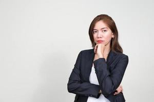 Portrait of Asian businesswoman photo