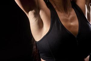 Woman armpit photo