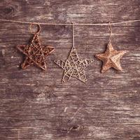 estrellas de navidad foto