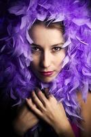 señorita púrpura