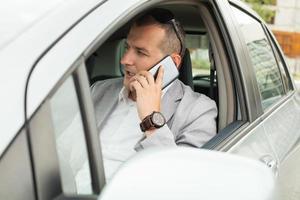 Using smartphone in a car