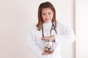 Examination of health insurance condition photo