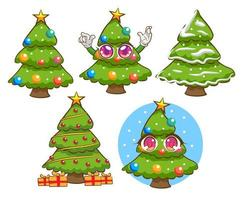 cartoon christmas tree free vector art 1 723 free downloads https www vecteezy com vector art 962978 kawaii cartoon christmas tree st
