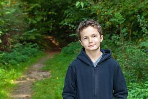 Charming Teenage Boy photo