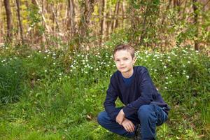 Teenage Boy outside photo