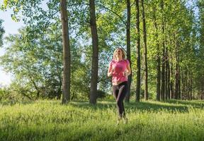 young girl runner photo