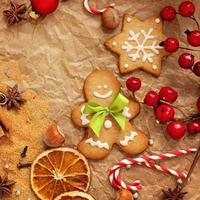 christmas gingerbreads baking