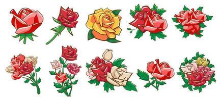 Rose element set