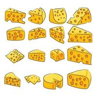 Cartoon Cheese Set
