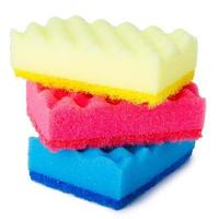 Colorful sponges photo
