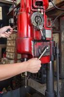 handle machining surface of automotive part