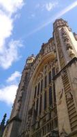 Main Facade of Bath Abbey
