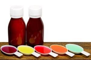 medicación de jarabe, foto