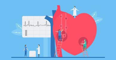 cardiologie aritmie ziekte concept
