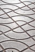 Pavement pattern photo