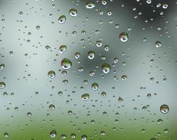 Raindrop patterns photo