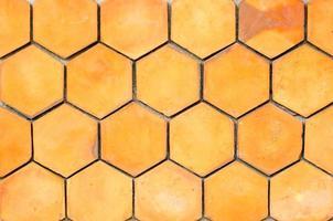 Seamless pattern of honeycomb photo