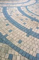 patrón de bloque de ladrillo abstracto foto