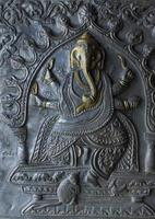 patrón nacional indio, decoración,